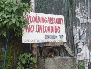 loading unloading area