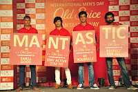 Sonu,Vidhyut, Rana & Milind unveil Old Spice's Smell Mantastic