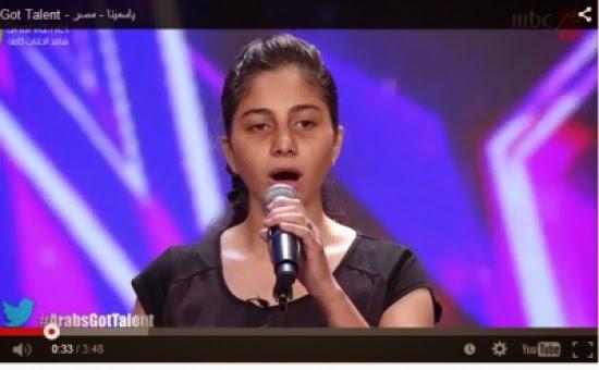 بالفيديو- مصرية بنكهة أم كلثوم تُبكي أعضاء تحكيم Arabs Got Talent