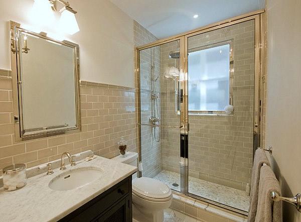 Ideas Sanitarios Baño:Estupendas ideas de diseños de baños pequeños – Colores en Casa