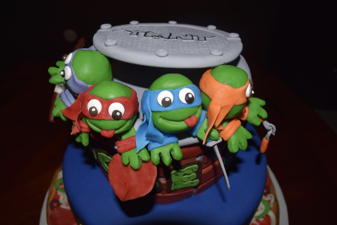 Cake Concepts by Cathy Teenage Mutant Ninja Turtles do they ever