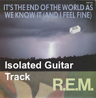 REM End of the World isolated guitar track image