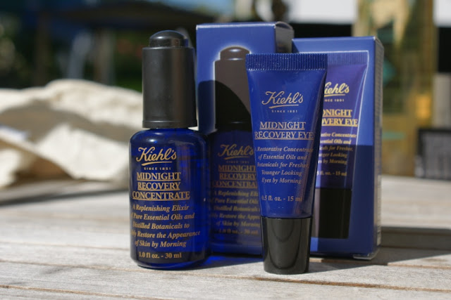 Kiehl´s Midnight Recovery Eye, Kiehl´s Midnight Recovery Concentrate