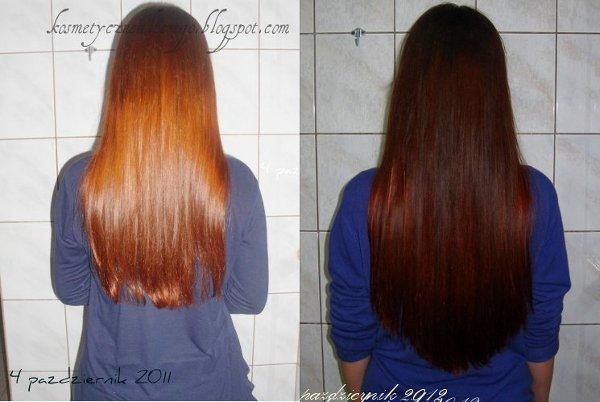 Aktualizacja włosów- Październik (plus roczne porównanie)