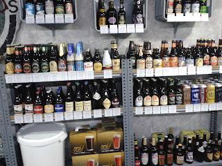 Estantes de cerveza