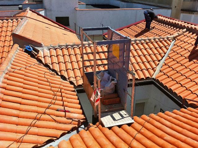 Tejados madrid tejados madrid impermeabilizaci n - Cubierta chapa galvanizada ...