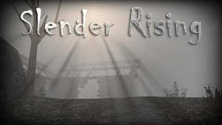 Screenshots of the Slender Rising for Android tablet, phone.