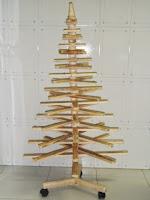 Árvore de natal - estilo entrelaçado.