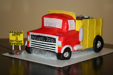 Dump Truck Cake