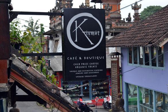 Kismet Cafe, Ubud