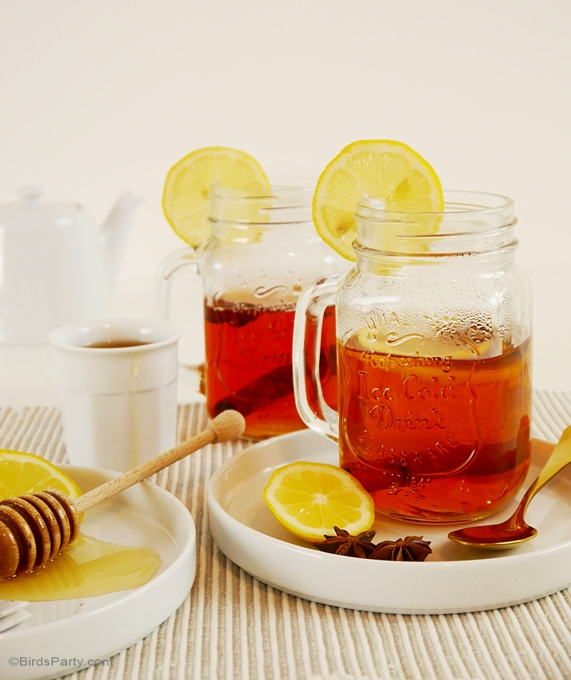 Spiced Earl Grey Hot Toddy Recipe - BirdsParty.com