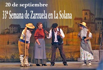 En octubre La Solana se viste de Zarzuelas..