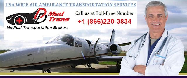 Air Ambulance Transportation in Arizona USA
