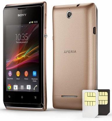Sony Xperia E Dual Android Phone Murah Rp 799 Ribu