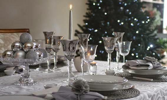 Ideias de como decorar mesa de Natal