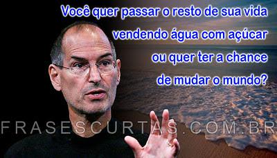 Frases de Steve Jobs - Pensamentos de um Homem de Sucesso