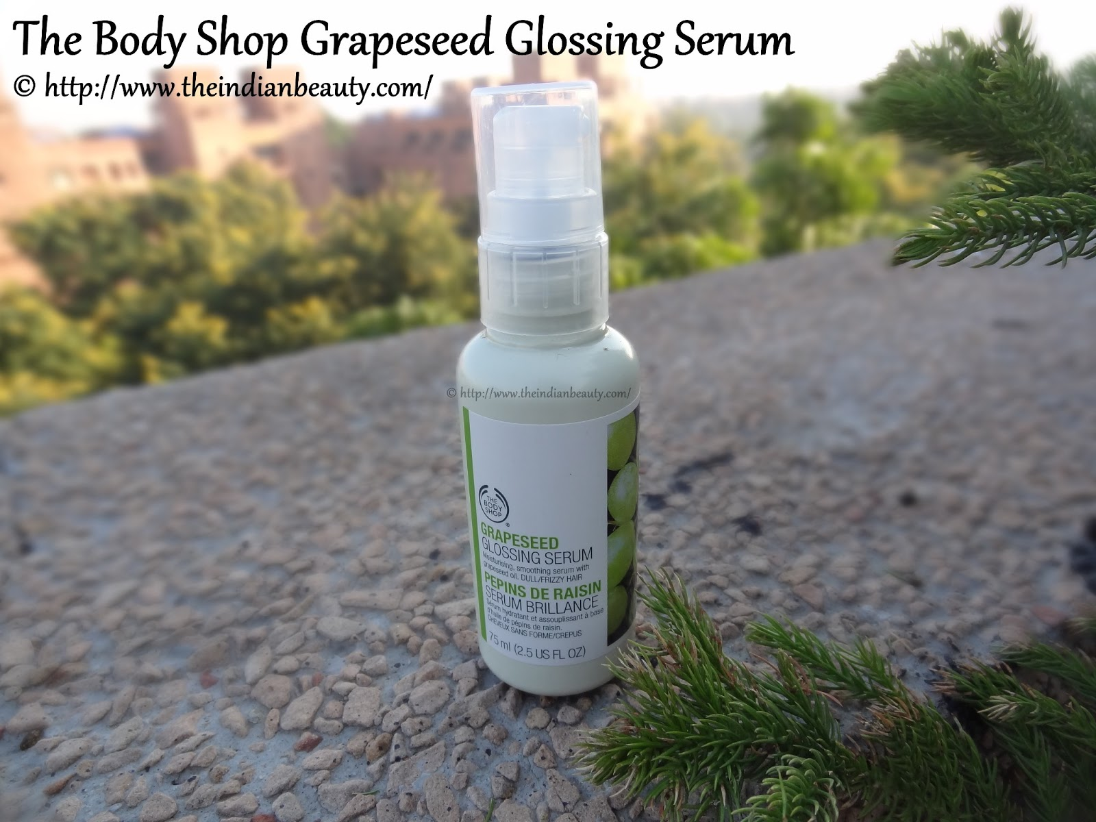 REVIEW: The Body Shop Grapeseed Glossing Serum