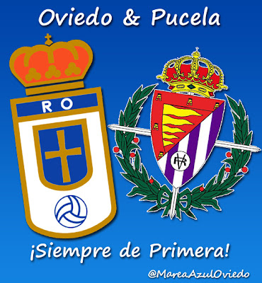 Real Oviedo y Real Valladolid siempre de primera