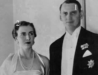 Prince héritier Frederik et princesse héritière Ingrid de Danemark