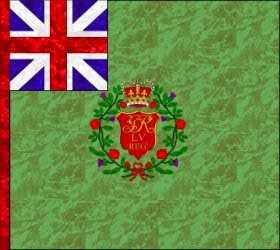 55th Regiment of Foot  Regimental Colour