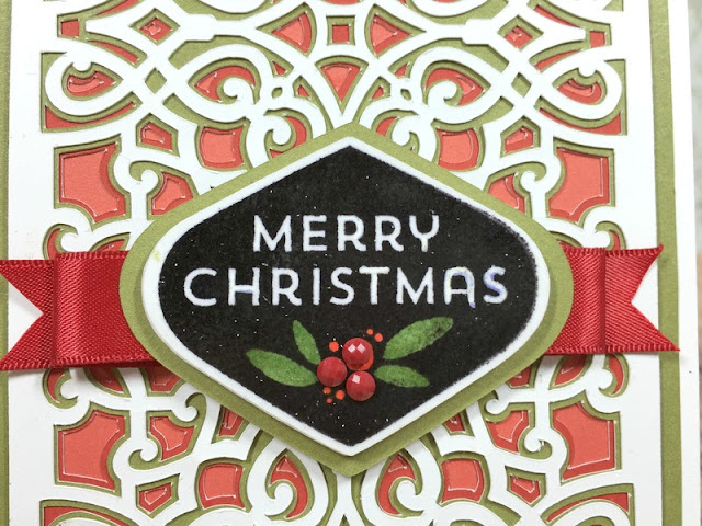 Cricut Artistry Christmas card