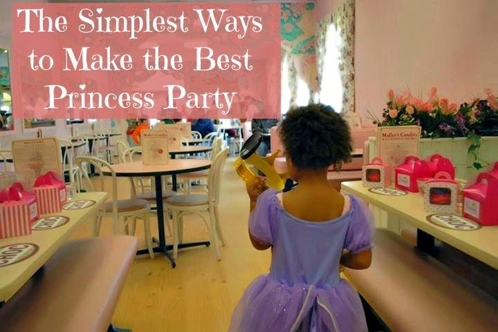 Simple Disney Princess party
