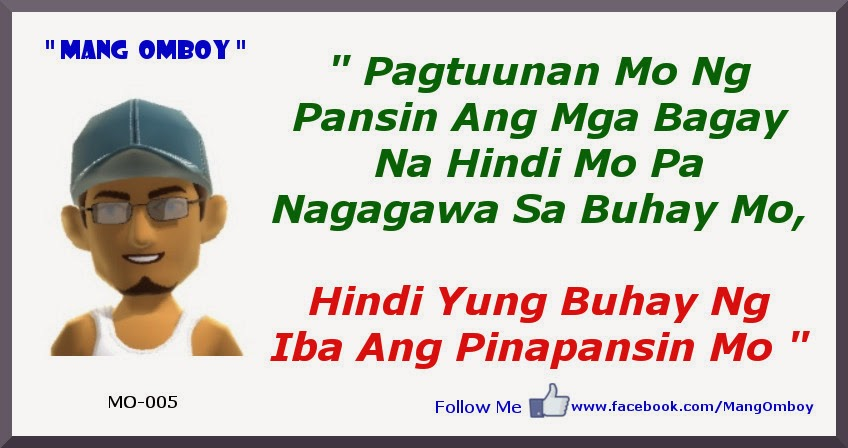 Pansariling quotes