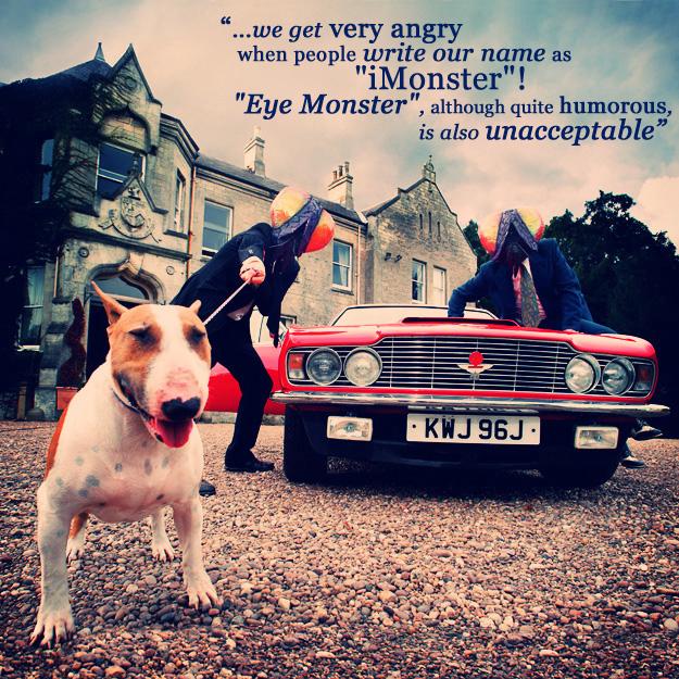 I Monster мухи собака машина
