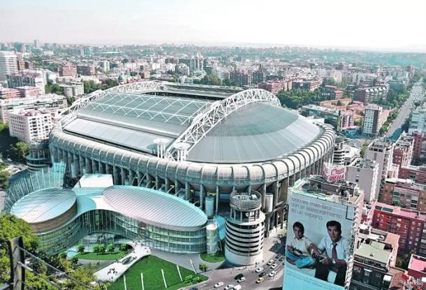 Banalidades nuevo estadio real madrid c f for Puerta 8 bernabeu