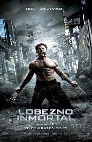 Poster The Wolverine 2013