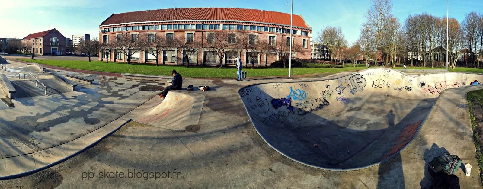 Skatepark Douai panoramique