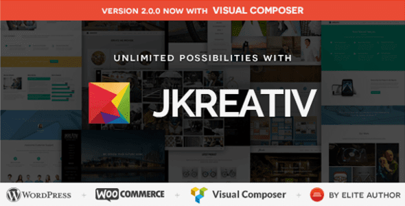Jkreative wordpress premium theme