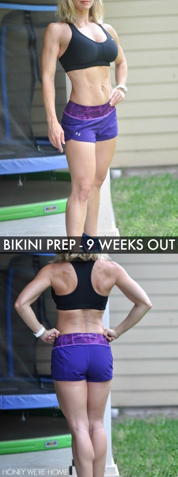 Bikini Contest Prep - 9 Weeks Out Recap