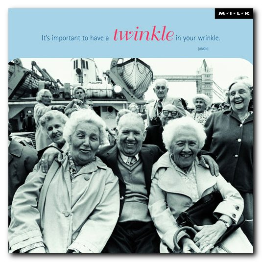 Put a twinkle in your wrinkle