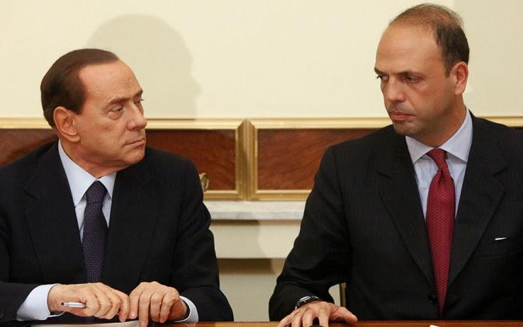 """ALFANO A BERLUSCONI: """"SAPPIA CHE NON MI FARO' ACCOPPARE DAI SUOI KILLER"""""""