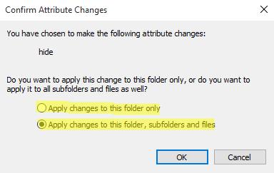 Cara Menyembunyikan File / Folder Di Windows 8