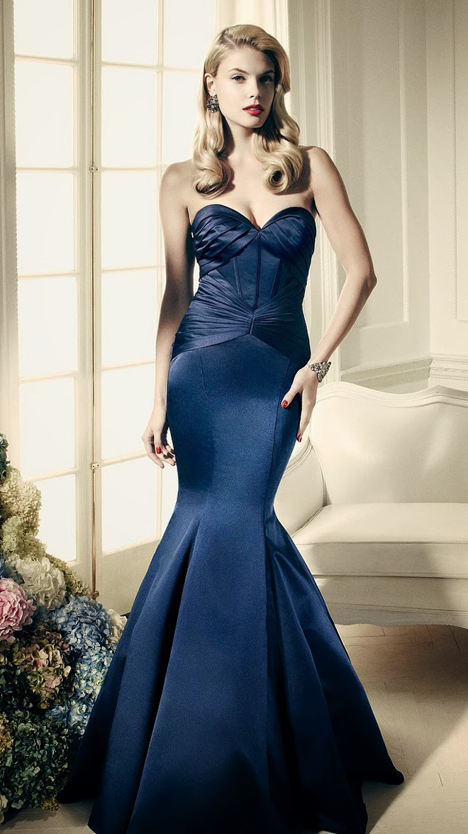 Truly zac posen 2014 wedding dresses at david 39 s bridal for Zac posen wedding dresses sale