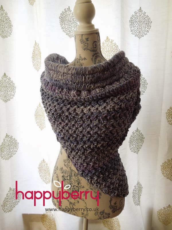 Happy Berry Crochet How To Crochet Our Solomon Cowl Free Pattern