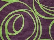 Tecido castanho e Verde
