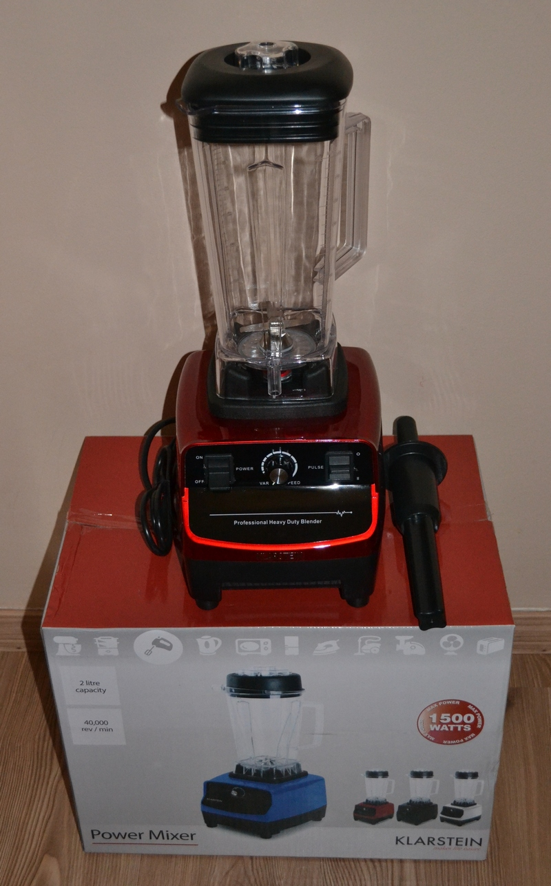 Powermixer Küche | Yvonne Sandra Klarstein Herakles 3g Powermixer Das Kraftpaket