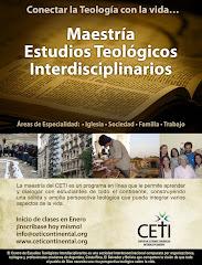 Maestría en Estudios Teológicos Interdisciplinarios