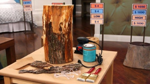 DIY Stump Side Table 2 - magrush.com