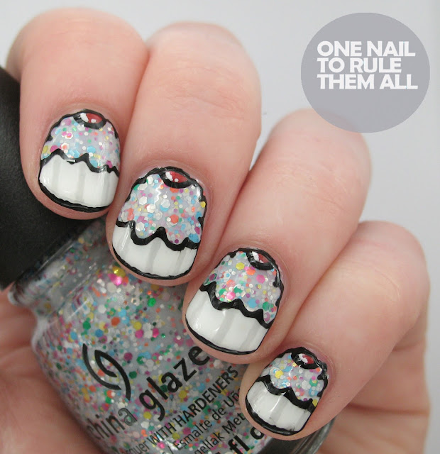One Nail To Rule Them All Barry M Nail Art Pens Review: One Nail To Rule Them All: Seven Deadly Sins Challenge