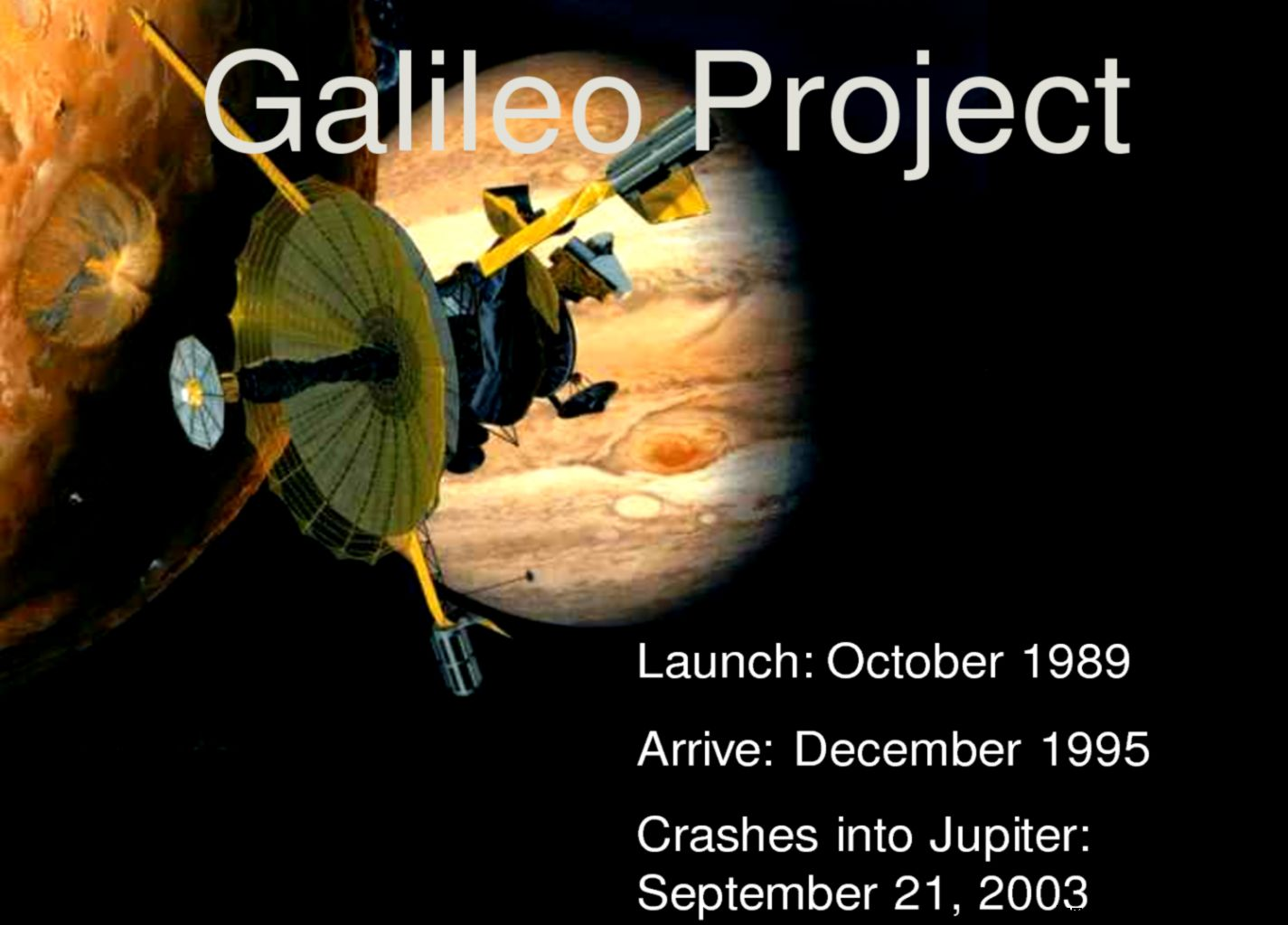 Space Probe Galileo Find Jupiter page 2   Pics about space