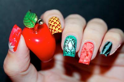 Tutti Frutti Nail Art