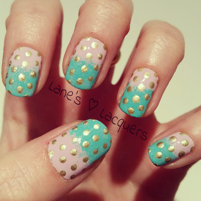barry-m-lilac-teal-gold-gradient-dotticure-nails