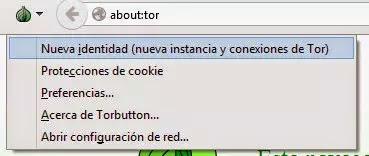 Complemento navegador TOR