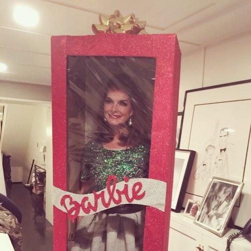 Bizarre Barbie: Brooke Shields as a plastic doll