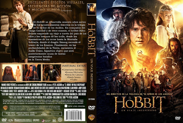 El Hobbit Un Viaje Inesperado Dvd