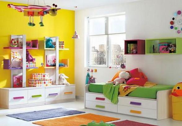 C mo organizar los juguetes de los ni os decoguia tu - Organizar habitacion infantil ...